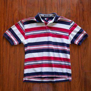 Vintage 90s Tommy Hilfiger Big Flag Polo Shirt
